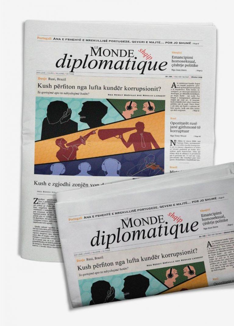 """Shqipërimi i """"Le monde diplomatique"""""""